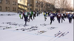KBC Stafetten - the annual cross-country skiing relay