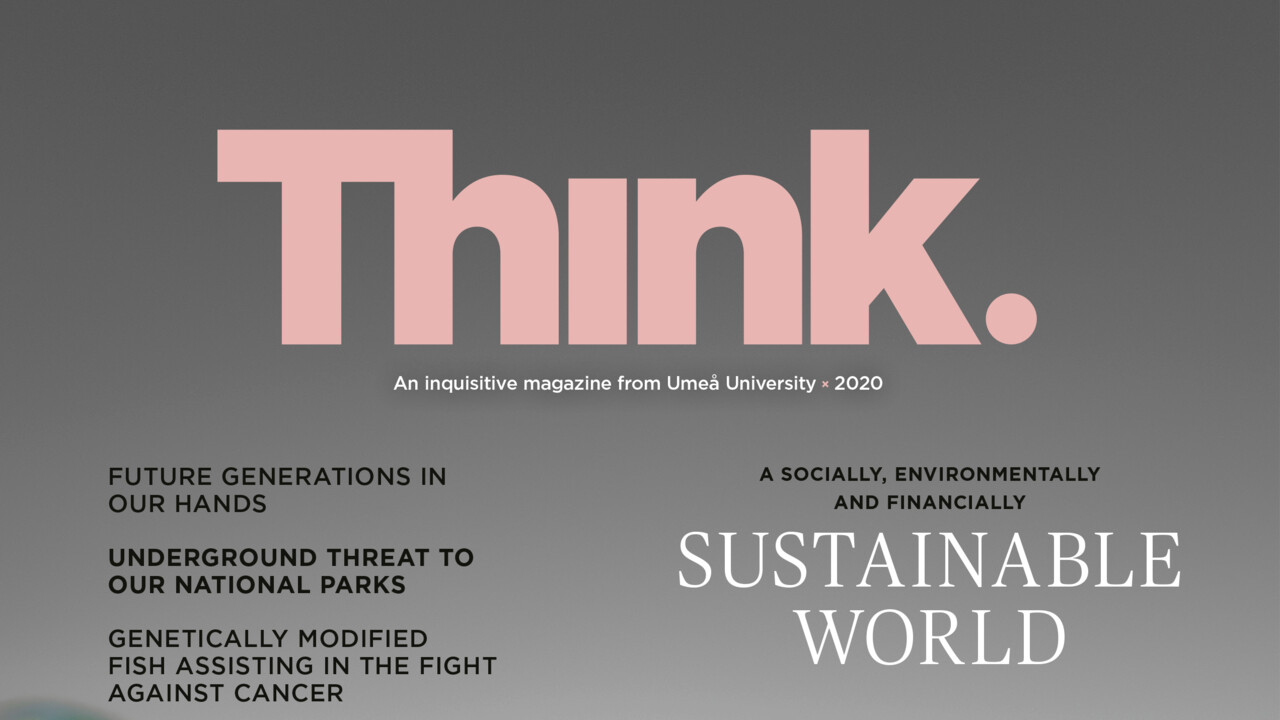 Cover of Think magazine 2020