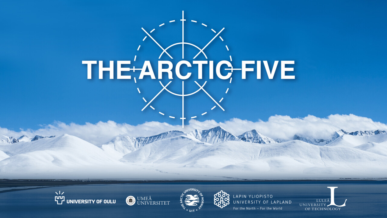 The Arctic Five with all logoytpes