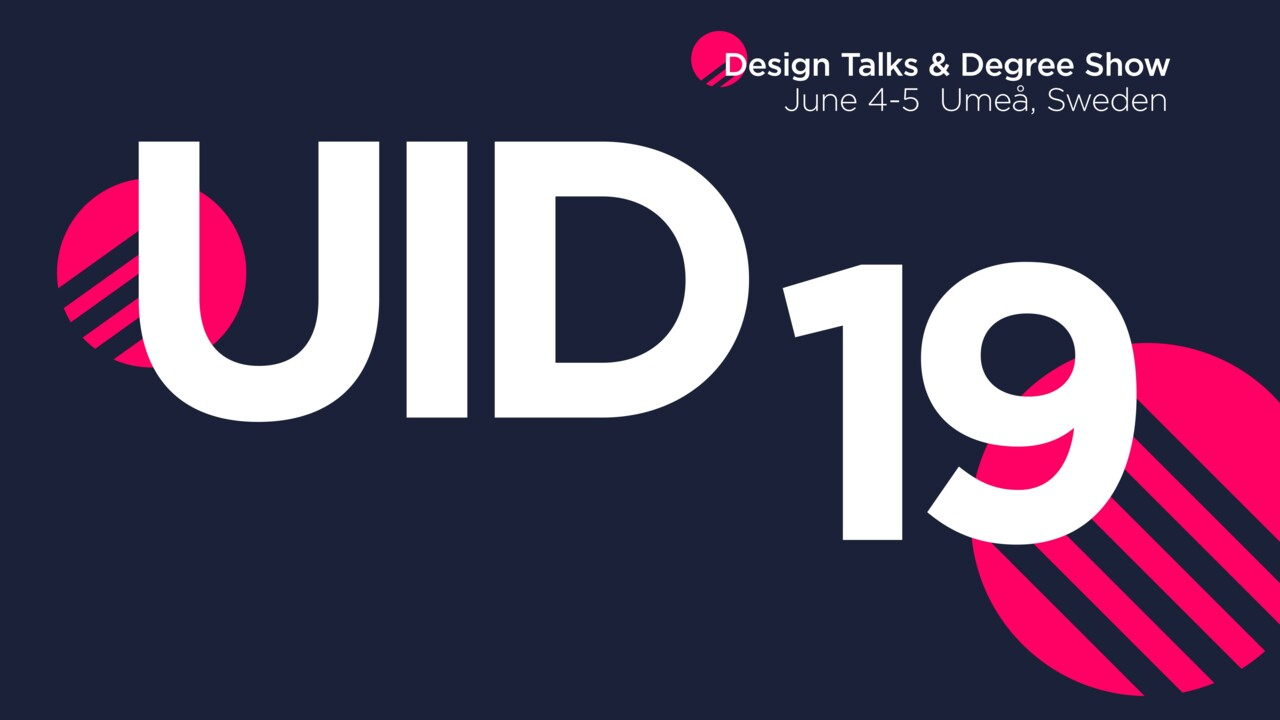 Logotyp UID Design Talks 2019