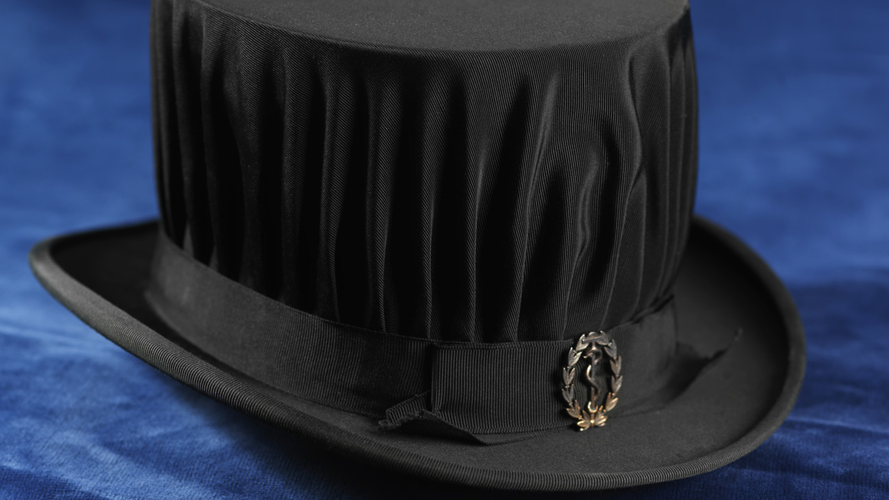 Photo of a doctoral hat