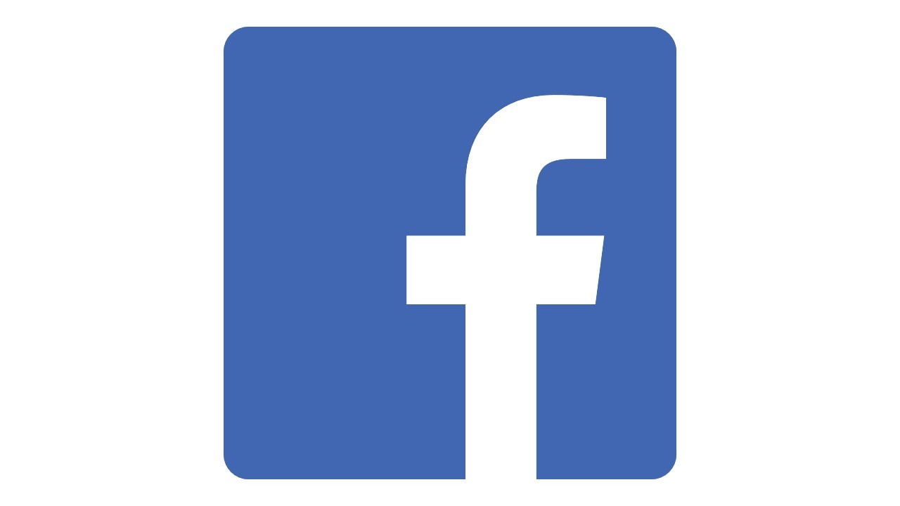 The Facebook logotype
