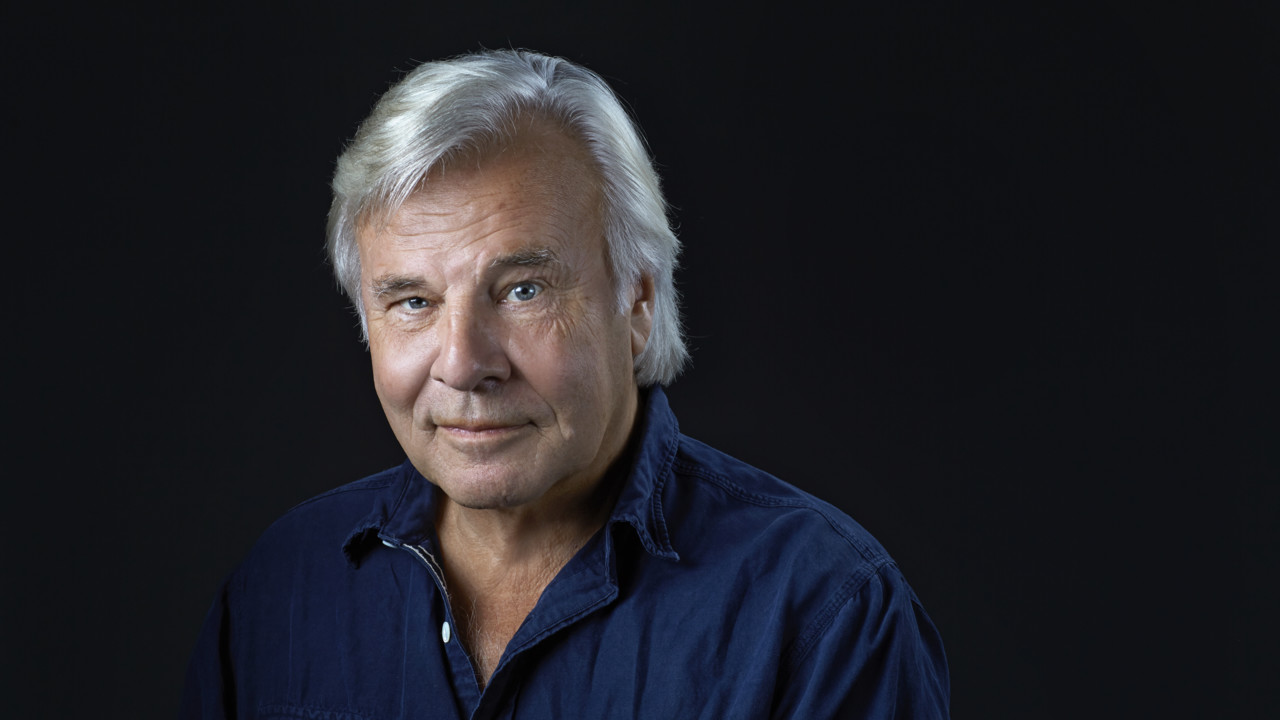 Portrait photo of Swedish author Jan Guillou.