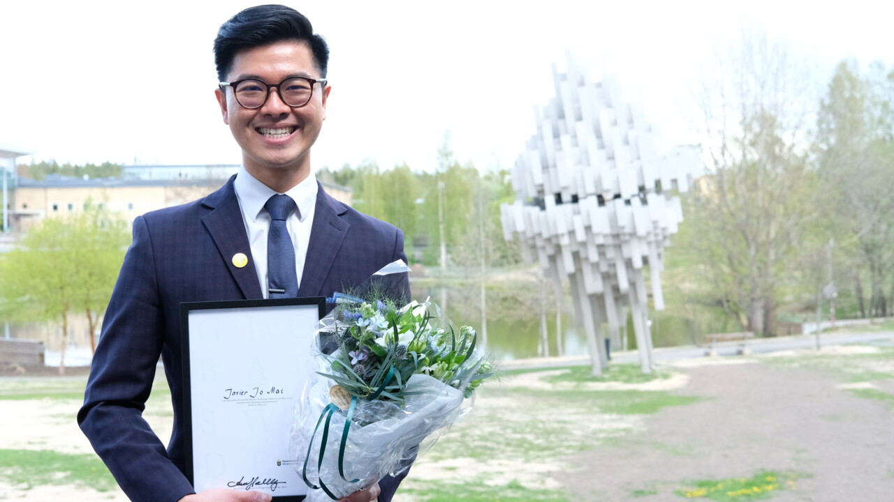 Finance student appointed Umeå University