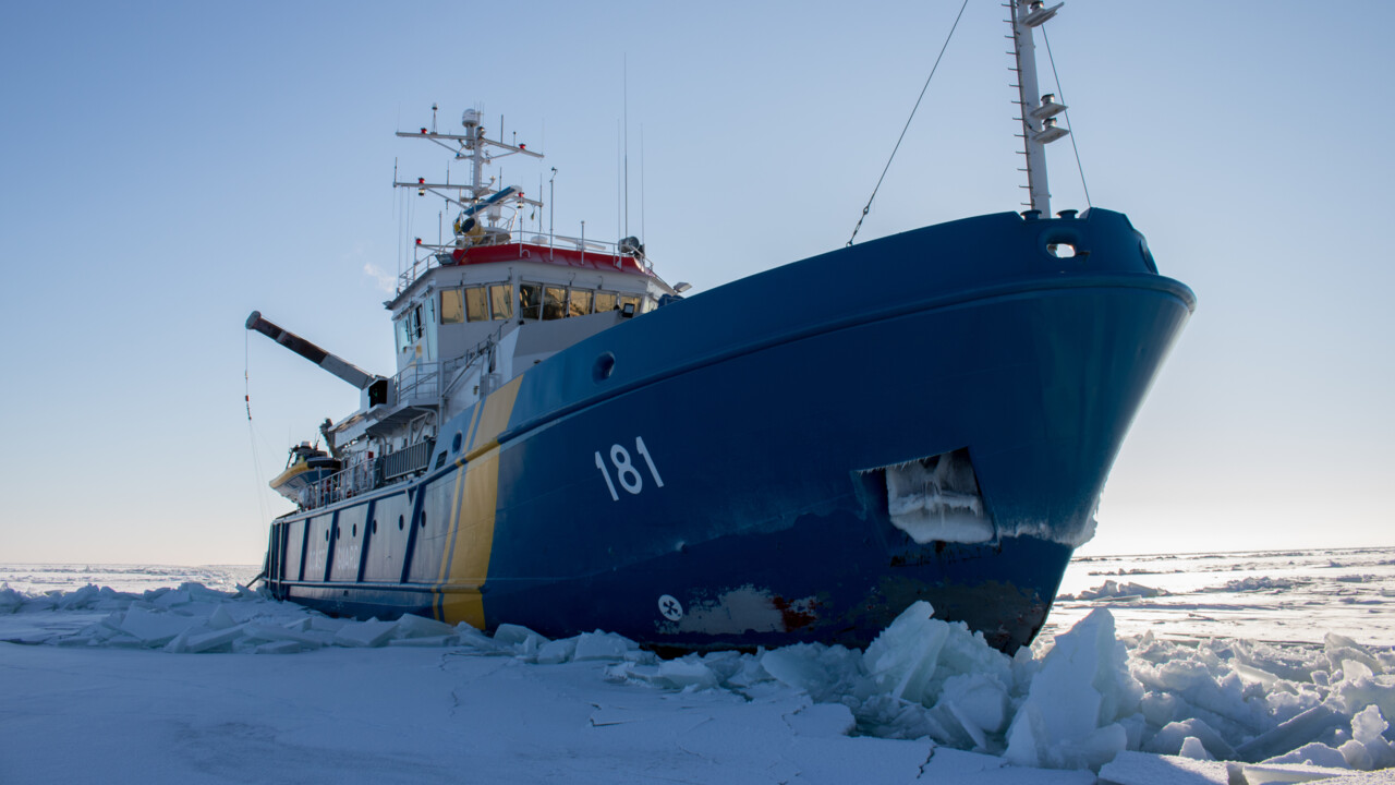 Research vessels Gulf of Bothnia