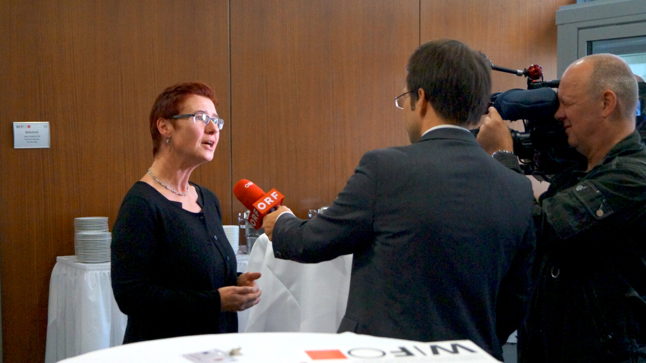 FairTax researcher Margit Schratzenstaller interviewed by austrian tv.