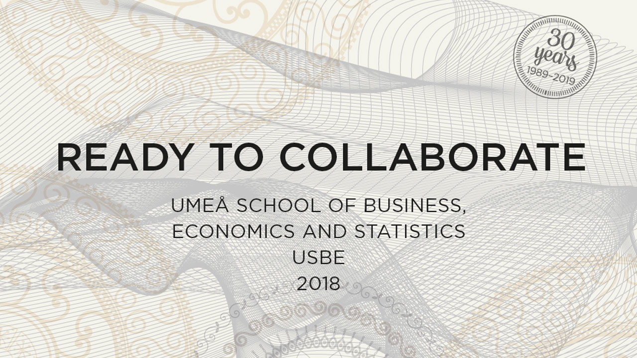 Umeå School of Business, Economics and Statistics – a summary of the year 2018