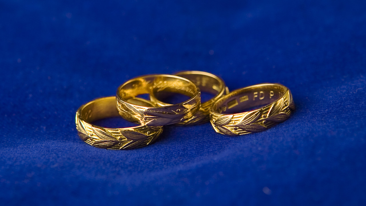 Photo od doctoral rings