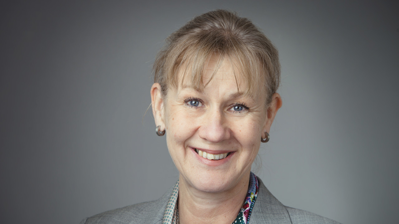 Portrait of Caroline Sjöberg, University Director of Umeå University.