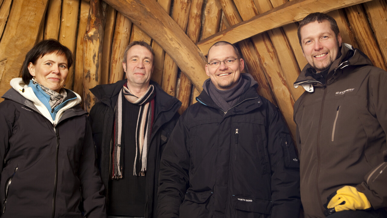 Researchers from the Arctic Research Centre at Umeå University, Arcum.
