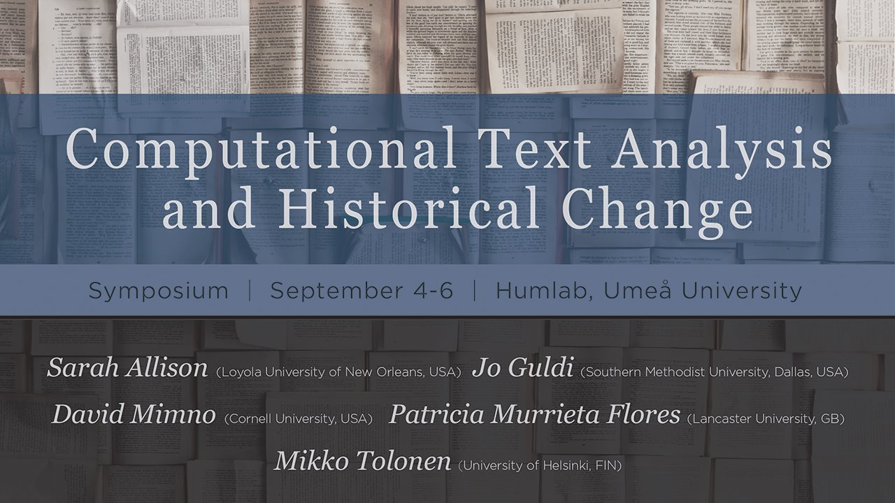 Computational Text Analysis and Historical Change
