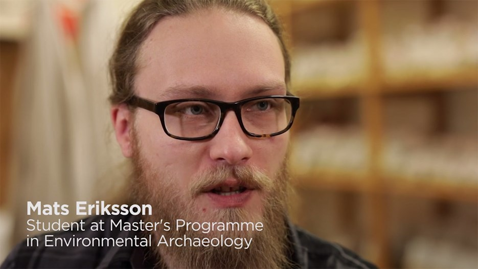 "Film: ""The best part of the program is that you combine the natural sciences with the classical archaeological train of thought"""