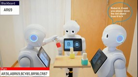 Robots in a group that can be trusted and understood
