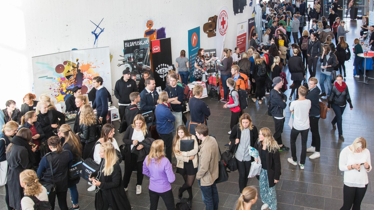 Image of Welcome Fair 2015.
